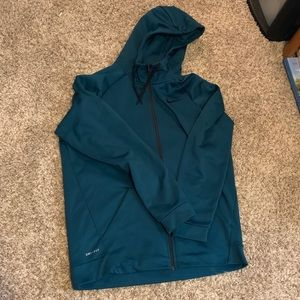EUC Men's Nike zip up hoodie